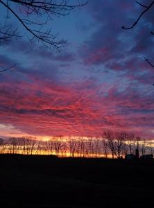 Parkman sunrise
