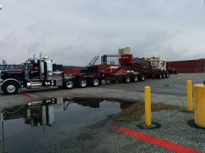 20-axle heavy rig